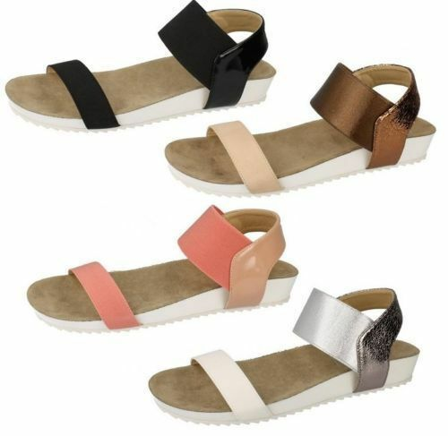 SALE Ladies Down To Earth F10325 Sandals UK Sizes 3-8 F10325 Earth c2bcb0