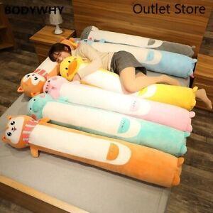 New-Animals-Plush-Long-Pillow-Cute-Cartoon-Plush-Toy-Soft-Stuffed-Cushion-Gift