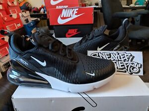 10e6f729ebc Nike Air Max 270 Triple Black White Solar Red Anthracite Running Men ...