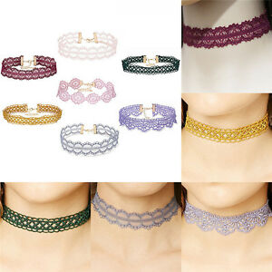 Retro-Hollow-Lace-Choker-Chain-Flower-Necklace-Lady-Collar-Chocker-Jewelry-Ne-Gn