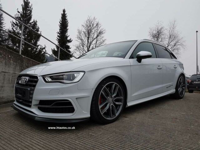 audi a3 s3 s line 2013 2015 8v front lip spoiler. Black Bedroom Furniture Sets. Home Design Ideas