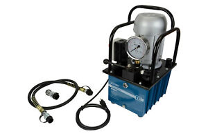 Electric Hydraulic Pump >> Electric Hydraulic Pump Power Pack 2 Stage Single Acting 120v 10k