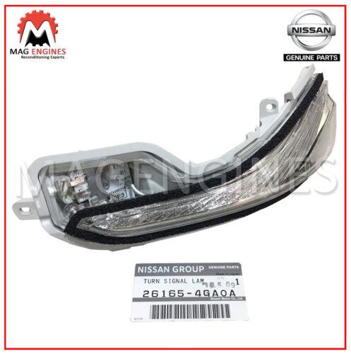 26165-4GA0A NISSAN GENUINE TURN SIGNAL LAMP ASSY FOR INFINITI Q50 Q60 Q70 QX30