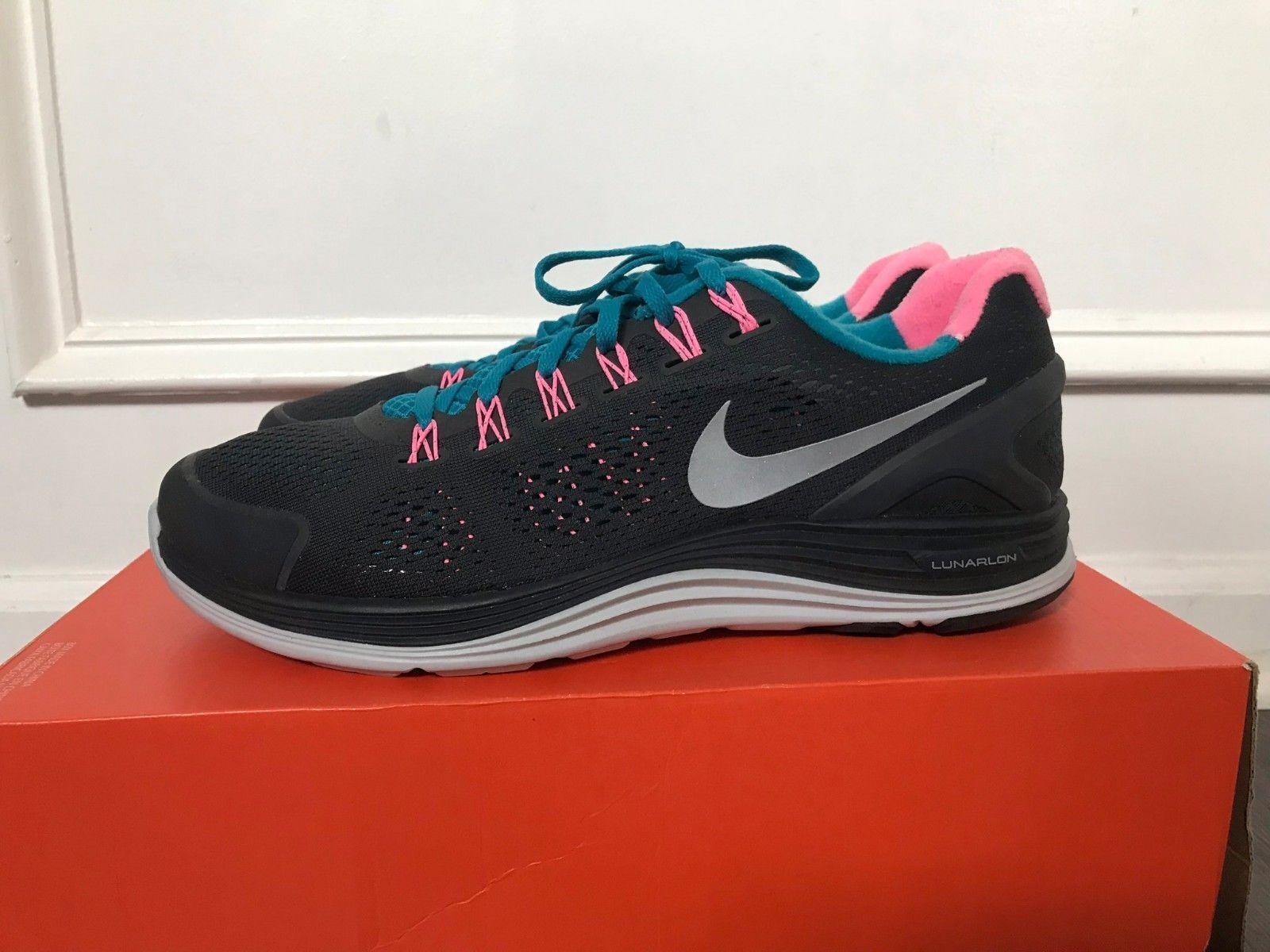 Men's Nike LunarGlide+ 4 Running shoes Midnight Navy bluee 524977 010 NEW 11.5