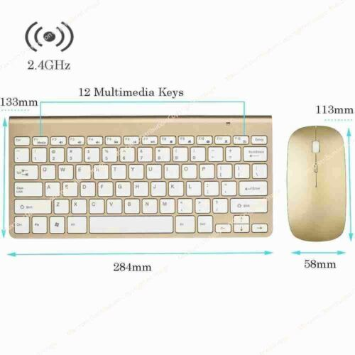 Wireless Mini Mouse and Keyboard for Argos Samsung Smart TV/'s GD HS