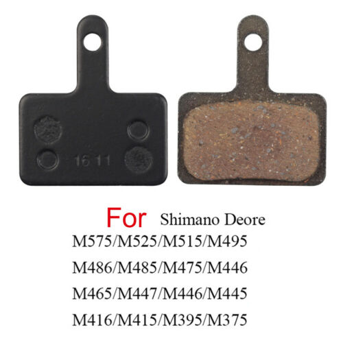 5Pair Bicycle Bike Disc Brakes Resin Pads For Shimano M375 M446 Tektro Auriga