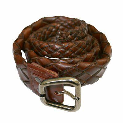 Genuine Leather 2 prong Eyelet Grommet Belt restraint HOBBLE BELT bdsm RATS BUM