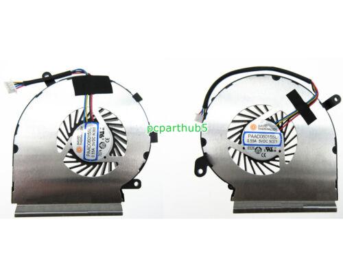 New MSI GE62VR GP62VR GP62MVR CPU /& GPU Cooling Fan AAVID PAAD06015SL N366 N371