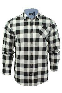 Verificacion-de-franela-de-algodon-cepillado-alma-valiente-camisa-de-mangas-largas-De-Jack