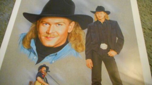 Vintage Tracy Lawrence Rockin/' The World Country Style Promo Poster