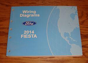 original 2014 ford fiesta wiring diagrams manual 14 ebay 2014 ford fiesta cover image is loading original 2014 ford fiesta wiring diagrams manual 14