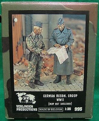 Appena Verlinden 995 1/35 German Recon Group Wwii - Resin Elevato Standard Di Qualità E Igiene