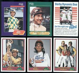 Details About Jerry Bailey Jockey Stars Card Lot W 2 Promos Dallas Tx Hall Of Fame H007