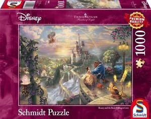 SCHMIDT DISNEY PUZZLE KINKADE BEAUTY & THE BEAST FALLING IN LOVE 1000 PCS #59475