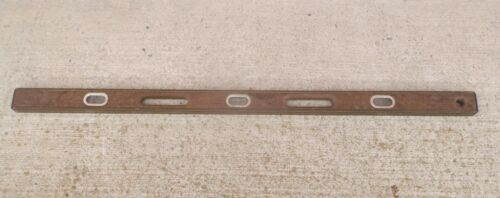 48 Inch Wood Level with Brass Edges