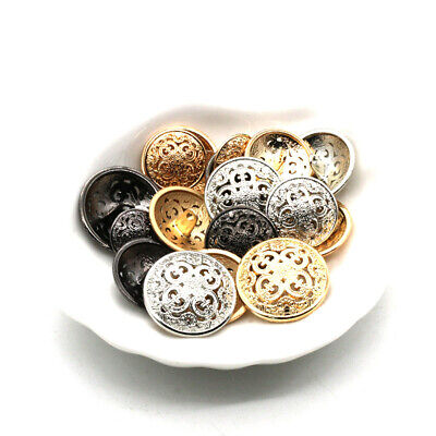 Blazer Fashion Resin Sewing Button Round Shaped Button Set for Men Women Sweaters 10PCS Clothes Buttons Shirt Black, 15mm Uniform Coat and Jacket