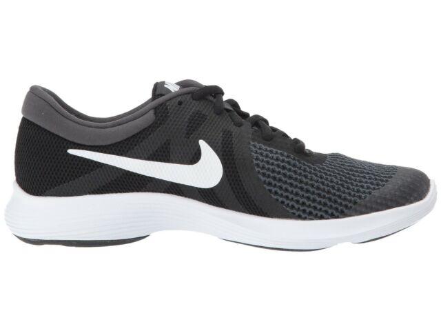 1a3928cb986 Nike Revolution 4 (gs) 943309-006 Black White Anthracite Kids US ...