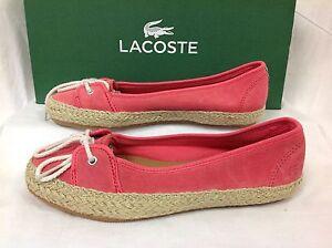 Lacoste-ELETA-3-Suede-Sneakers-Women-039-s-Plimsolls-Casual-Shoes-Size-UK-4-EU-37