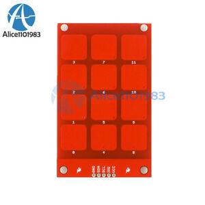 MPR121 Capacitive Touch Keypad Shield Module sensibles Clé Clavier pour Arduino