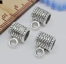 Wholesale 50//110Pcs Tibetan Silver  Spacer Beads 7x3mm Lead-free