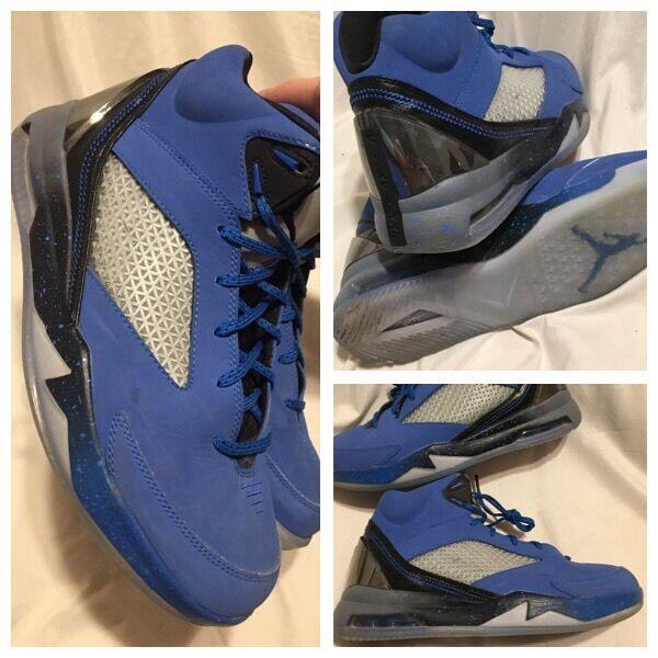 2014 Nike Remix Air Jordan Flight Remix Nike Men Sz 8 Blue Black Gray 23 Retro 679680-403 417057
