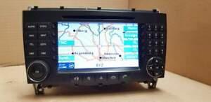 Radio APS CD Navi Mercedes W209 FL CLK COMAND Navigation Becker BE6099 2006 Bj.