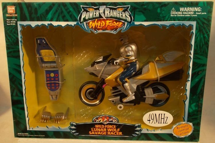 Energia Rangers Wild Force Remote Control R  C Lunar Wolf Savage Racer Cycle MIB  a buon mercato