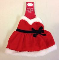 Christmas Santa Mrs. Claus Wine Bottle Cover Wrap Red Dress Party Decoration New