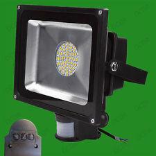 50 W cálido blanco Led 60 Smd Pir Sensor De Movimiento Luz de inundación al aire libre Lámpara Ip65