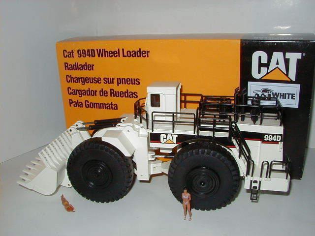 Caterpillar 994 d retrocavadoras Pyramid logotipo blancoo  478.2 NZG 1 50 OVP