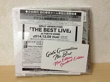 SNSD Girls Generation THE BEST New song CD Photo card Japan Standard Edition F/S