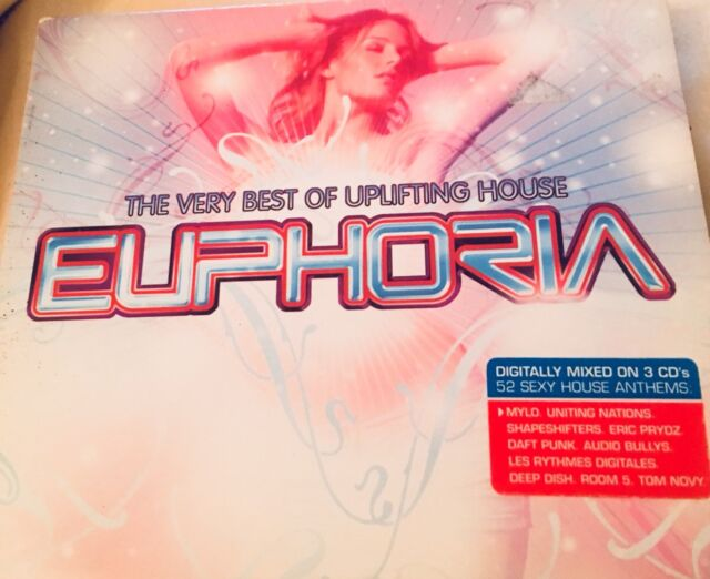 Various Artists - Euphoria (The Very Best of Uplifting House, 2005)