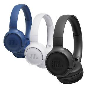 JBL T500 BT Over-Ear-Kopfhörer Bluetooth Kabellos Faltbar Pure Bass Headphones