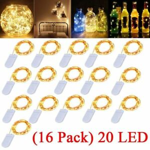 16-Pack-6-6ft-20-LEDs-Battery-Operated-Mini-LED-Copper-Wire-String-Fairy-Lights