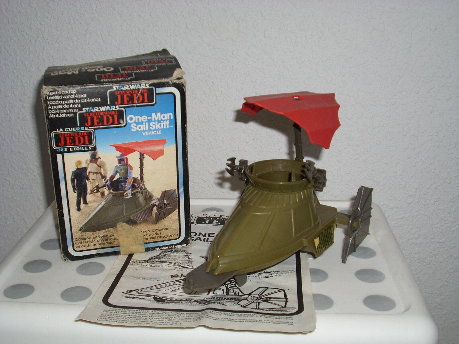Star Wars Return of the the the Jedi - One-Man Sail Skiff   Lucasfilm 1983 b2a019