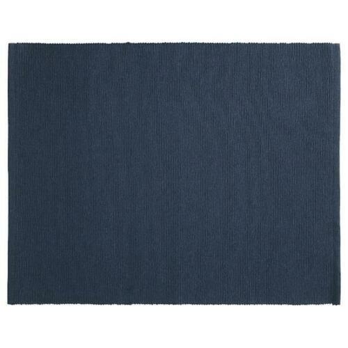 4x tischset bleu foncé 35x45cm place de coffre platzset dessous de verre Nappe