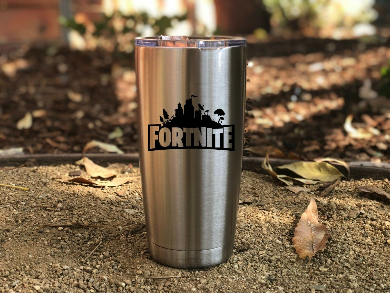 Fortnite Inspired Insulated 20 oz Tumbler, Victory Royale