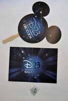 Disney D23 Expo Auction Pin Le Paddle Program Catalog