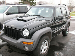 Details About 2008 2013 Hood Scoop For Jeep Liberty By Mrhoodscoop Unpainted Hs002
