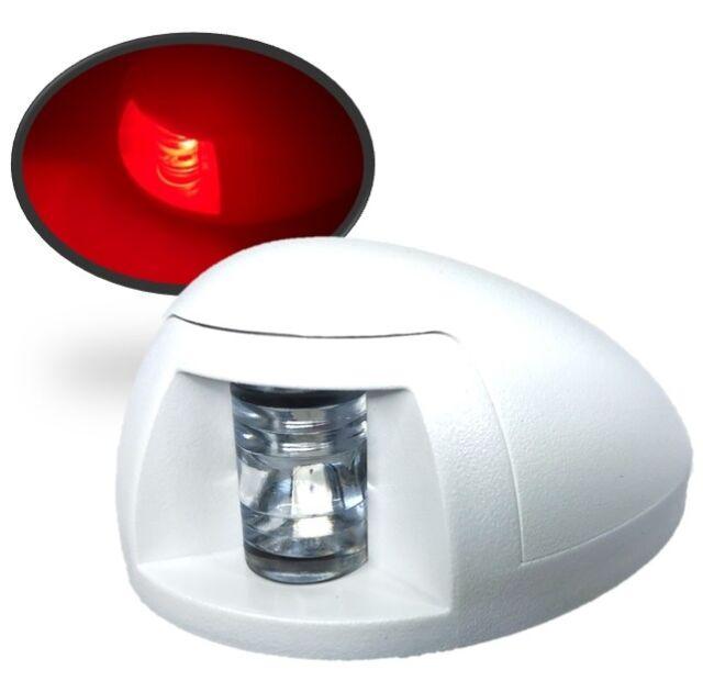 Marine Boat White LED Navigation Bow Light Green Starboard Red Port Horizontal M