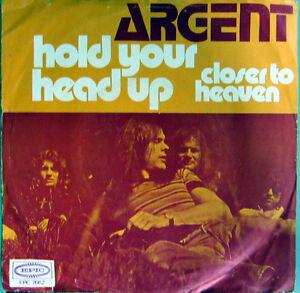 Single-ARGENT-ROCK-1971-RARITAT-EX-ZOMBIES