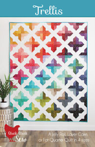 Quilt Pattern Trellis Moda Cluck Cluck Sew Layer Cake Jelly Roll