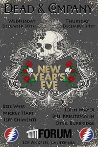 Dead And Company New Year Poster – Happy New Year 2019 Pics