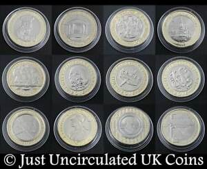 Brilliant-Uncirculated-Rare-Two-Pound-Coins-2-1986-to-2017-Various-Years
