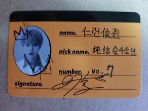 NCT DREAM RENJUN Official CREW CARD PHOTOCARD 2nd Mini Album