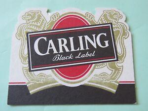 Beer Breweriana Coaster Carling Black Label Burton-upon ...