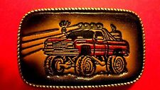 VINTAGE 4X4 Off Road Genuine Leather Leather Buckle  Made in USA - New