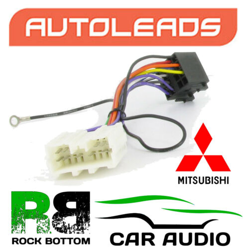 Autoleads pc2-46-4 Mitsubishi Space Star 98-06 Auto Stereo Iso Cable Plug