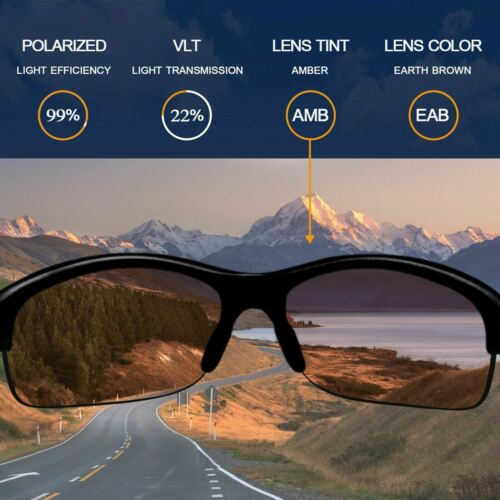 Il anti-eau salée lentilles de remplacement pour-Lunettes Turbine-Brown Polarized