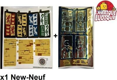 1 x LEGO Stickers Autocollants Harry Potter Chateau Poudlard 75954 NEUF NEW